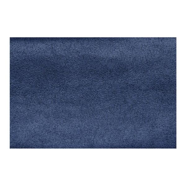 Modrá pohovka Modernist Crinoline, levý roh