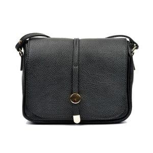 Černá kožená kabelka Renata Corsi Rozzno