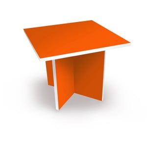 Stolek, oranžový