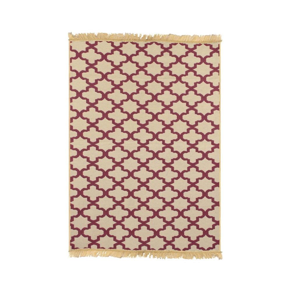Červený koberec Ya Rugs Claret, 120 x 180 cm