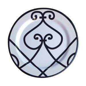 Sada 6 melaminových talířů Sunvibes Arabesque, Ø 25 cm