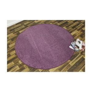 Fialový koberec Hanse Home Nasty, ⌀ 200 cm