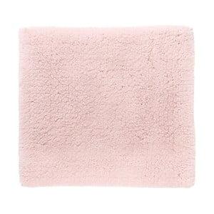 Růžová koupelnová předložka Aquanova Alma, 60x60cm