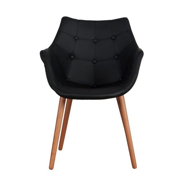 Židle Eleven Black Beech