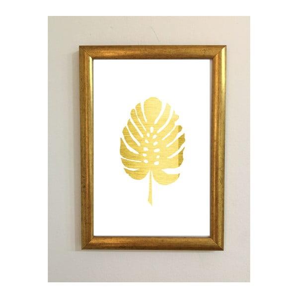 Plakát v rámu Piacenza Art Gold Leaf, 30x20cm