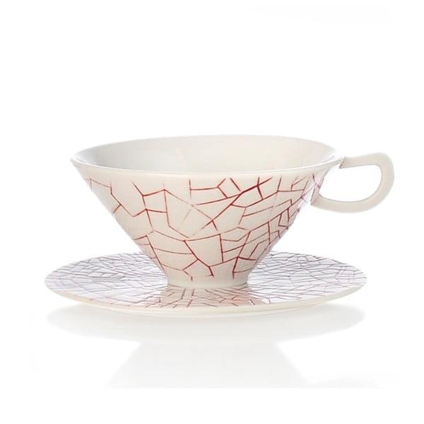 Ručně malovaný porcelánový šálek Seasons Marzo