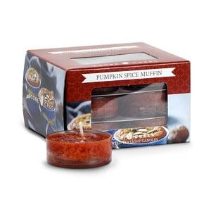 Sada 12 čajových svíček Goose Creek Dýňový kořeněný muffin