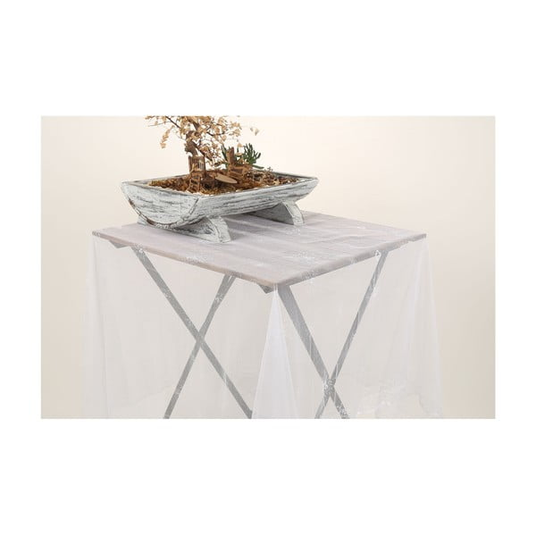 Bílý ubrus Jane, 145 x 145 cm