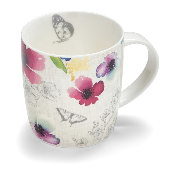 Hrnček z porcelánu Cooksmart Chatsworth Floral