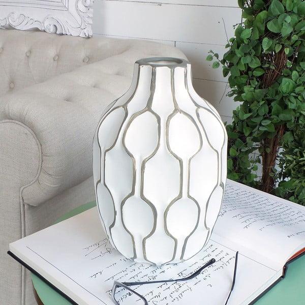Váza Orchidea Milano Modern White, 27 cm