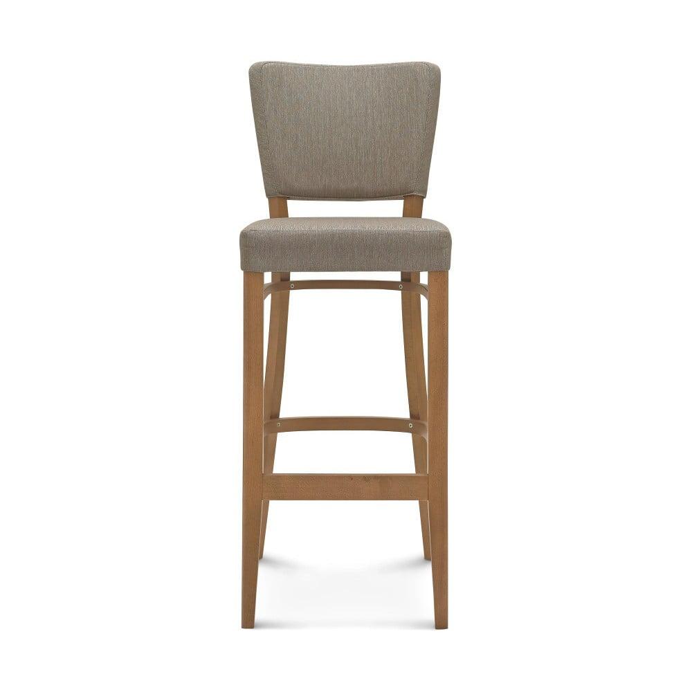 Šedá barová židle Fameg Axel
