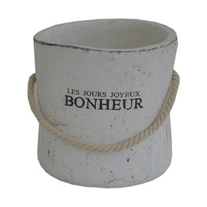 Bílá váza Stardeco Bonheur
