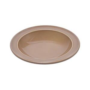 Béžový polévkový talíř Emile Henry, ⌀ 22,5 cm