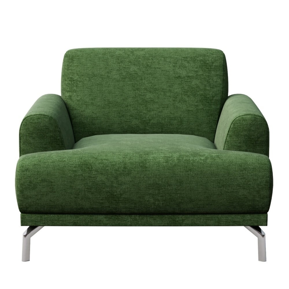 Zelené křeslo MESONICA Puzo