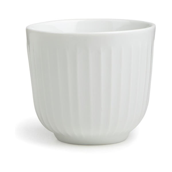 Biely porcelánový hrnček Kähler Design Hammershoi, 200 ml