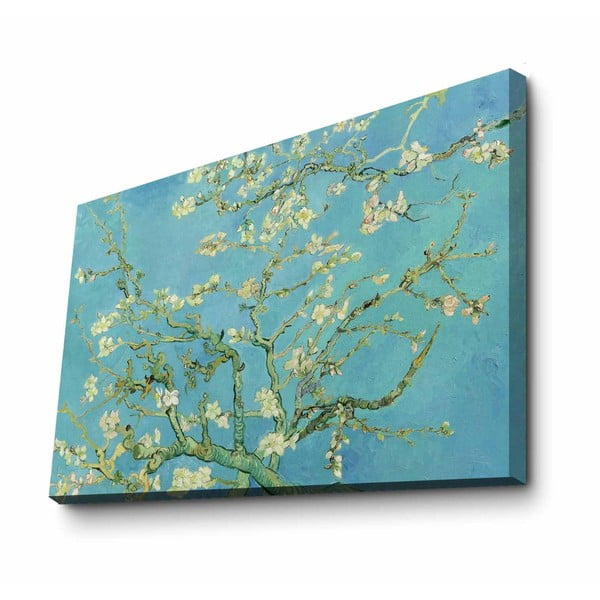 Fali vászon kép Vincent Van Gogh Almond Blossom másolat, 100 x 70 cm