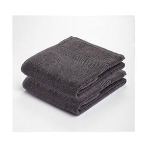 Ručník Romeo, šedý, 50x30, 2 ks