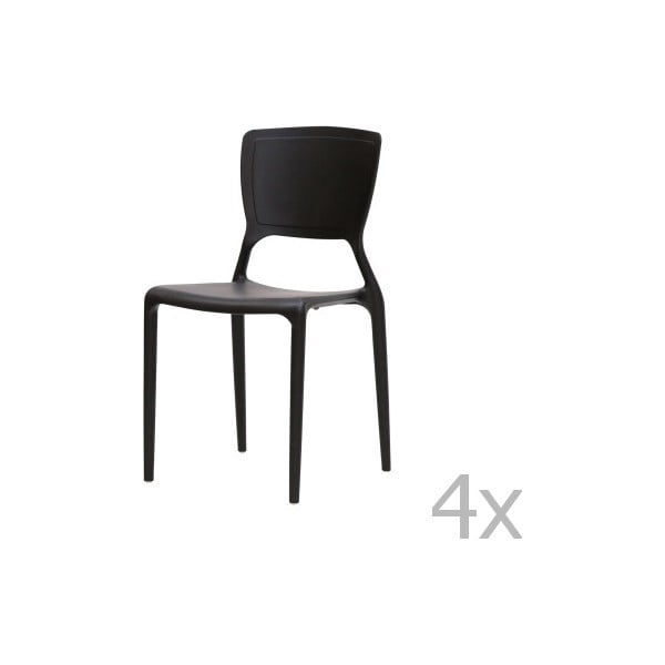 Sada 4 židlí Canett Freja