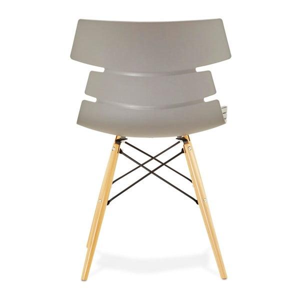 Šedá jídelní židle Kokoon Strata