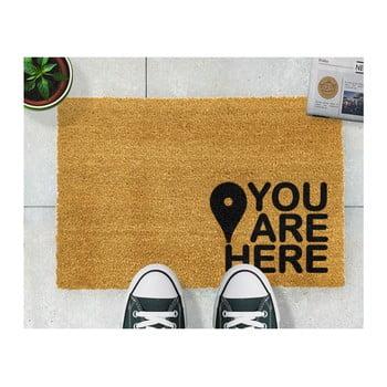 Covoraș intrare din fibre de cocos Artsy Doormats You Are, 40 x 60 cm