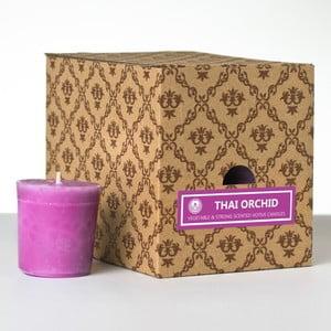 Sada 12 vonných svíček Thai Orchid, 15 hodin hoření