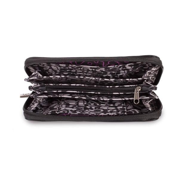 Peněženka Lois Black, 19x10 cm
