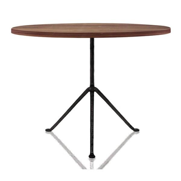 Masă cu blatul din lemn de frasin Magis Officina, ø 75 cm