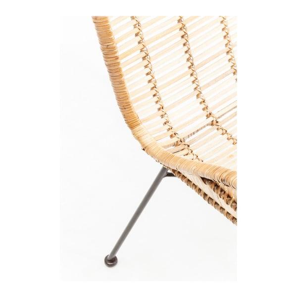 Ratanová židle s područkami Kare Design Ko Chang