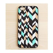 Obal na iPhone 4/4S, Mint&Wood in Black