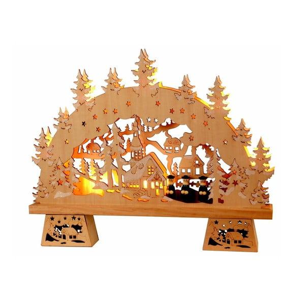 Svítící dekorace Winter Decor