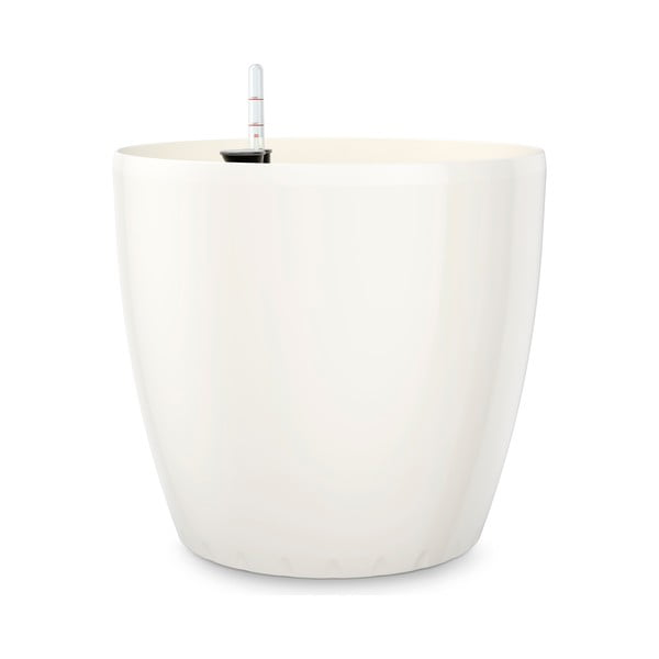 Vysoce odolný květináč Casa Brilliant 22 cm, bílý