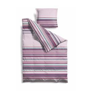 Povlečení Purple Stripes, 140x200 cm
