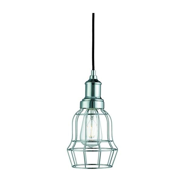 Stropní svítidlo Searchlight Bell Cage, chromovaná