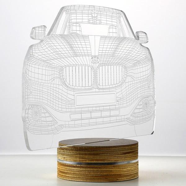 3D stolní lampa Cool Car