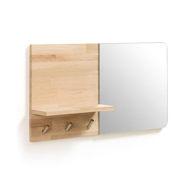 Cuier de perete cu oglindă La Forma Maiten