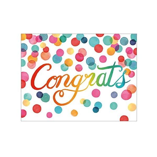 Sada blahopřání Galison Mudpuppy Congratulations, 16ks