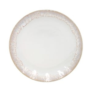 Bílý dezertní talíř z kameniny Casafina Taormina,⌀22cm