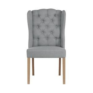 Světle šedá židle Jalouse Maison Hailey