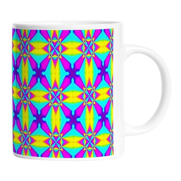 Keramický hrnek Neon Kaleidoscop, 330 ml