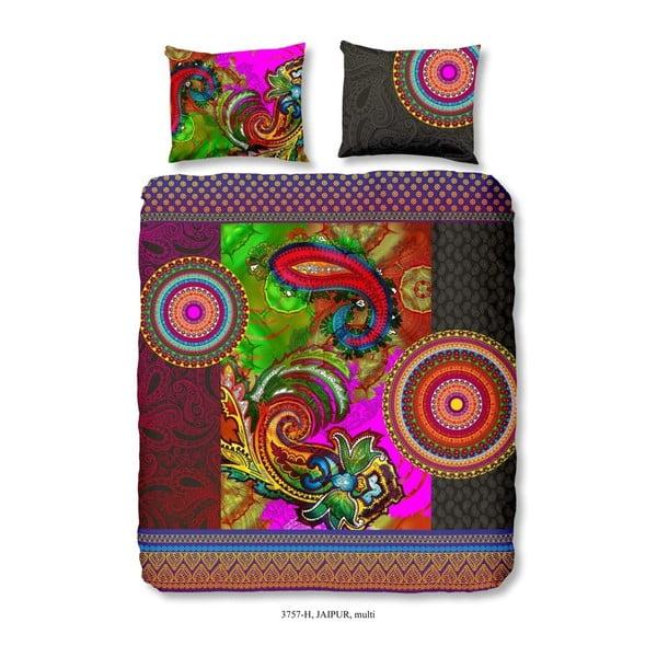 Lenjerie de pat din bumbac satinat HIP Jaipur, 200 x 200 cm