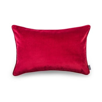 Față de pernă roșie WeLoveBeds Elegant Burgundy, 40 x 60 cm de la WeLoveBeds