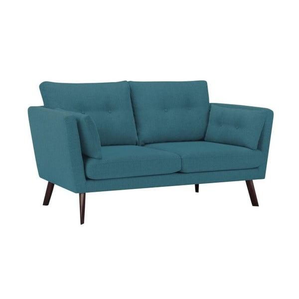 Canapea cu 3 locuri Mazzini Sofas Elena, turcoaz