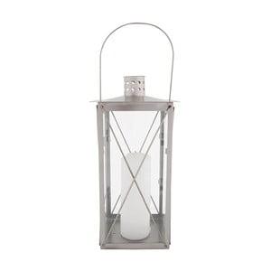 Nerezový lampion EsschertDesignRomance, výška37cm