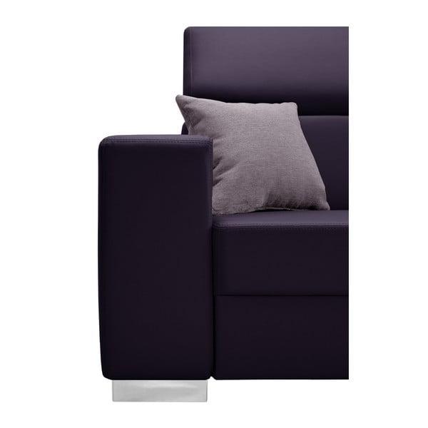 Švestkově fialová sedačka Interieur De Famille Paris Tresor, pravý roh