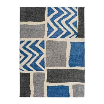 Covor adecvat și pentru exterior Universal Kasbah Grey, 80 x 150 cm, gri – albastru de la Universal