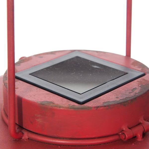 Závěsné stropní světlo Red Lamp se solárním panelem
