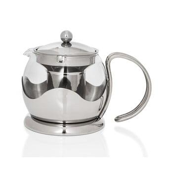 Ceainic din inox cu sită Sabichi Infuser, 750 ml imagine