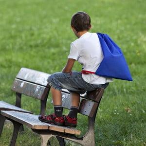 Sáček pro děti do školy, modrý