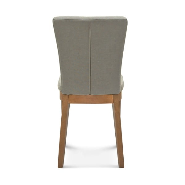 Sada 2 šedých židlí Fameg Greta