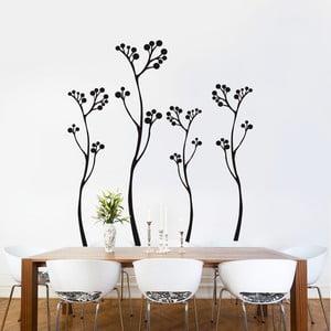 Samolepka na zeď Plants, 90x60 cm